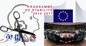 Programme de stabilité 2014-2017 milliards de coupe