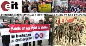 EIT renconre 7 juin 2015 Genève défense droit de grève